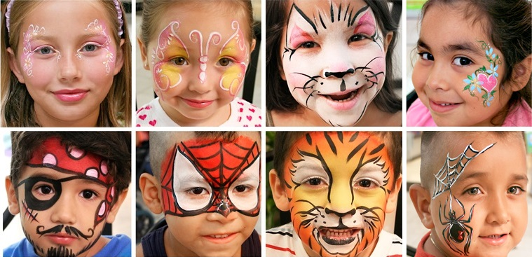 professional kid party face painter Leisure World