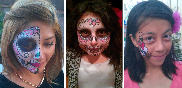 hire an Los Angeles county face painter